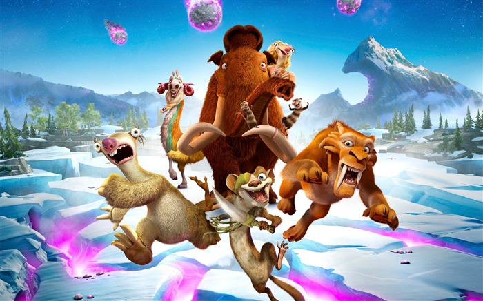 Ice Age Collision Course 2016 Movies Wallpaper 07 Views:1979