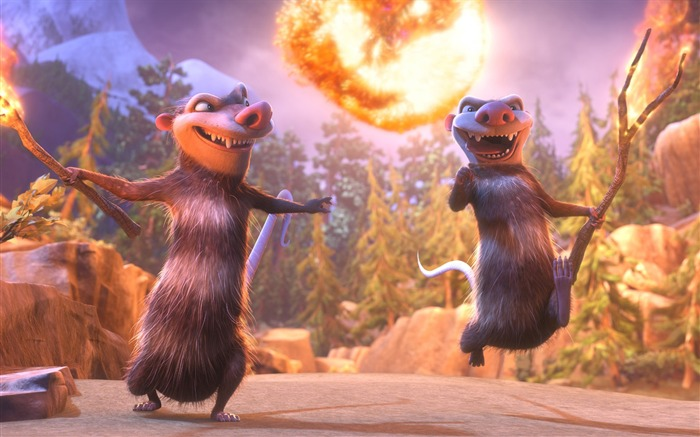 Ice Age Collision Course 2016 Movies Wallpaper 14 Views:1581