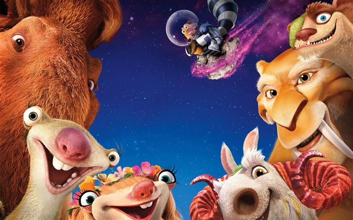 Ice Age Collision Course 2016 Movies Wallpaper Views:1984