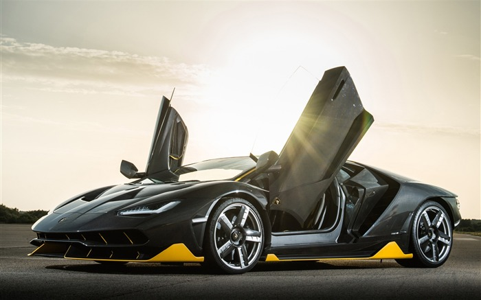 Lamborghini centenario hyper-Luxury Car HD Wallpaper Views:921