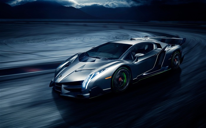 Lamborghini veneno-Luxury Car HD Wallpaper Views:767