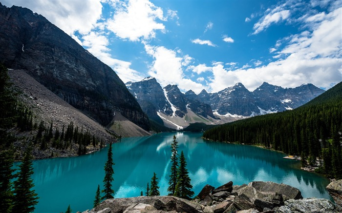 Moraine lake canada-Scenery High Quality Wallpaper Views:1602