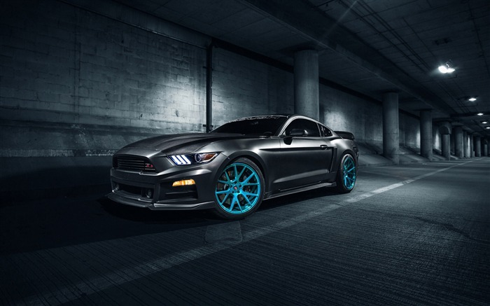 Roush ford mustang vossen-Luxury Car HD Wallpaper Views:1217