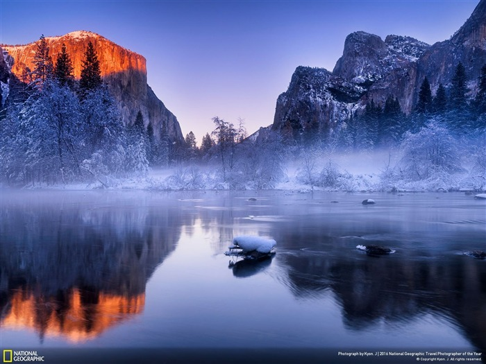 Fondo de pantalla de Yosemite Valley California-National Geographic Vistas:1043