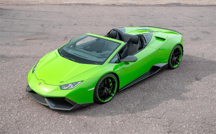 2016 Lamborghini Huracan Spyder Supercar HD Wallpaper Views:3020