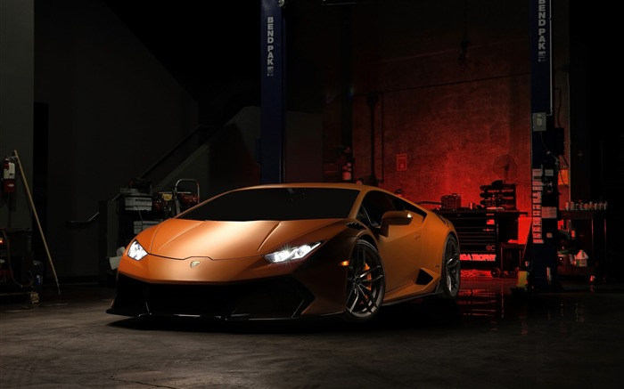 2016 Lamborghini Huracan V-FF 105 Supercar Wallpaper Views:8726