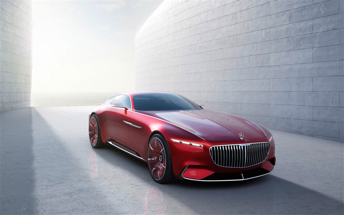 2016 Vision Mercedes-Maybach 6 Concept Car Wallpaper Views:8181