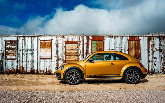 2016 Volkswagen Beetle Dune Auto HD Wallpaper Views:9464