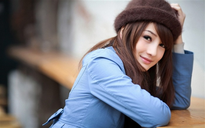 Asian youth fashion beauty photo desktop wallpaper Views:3668