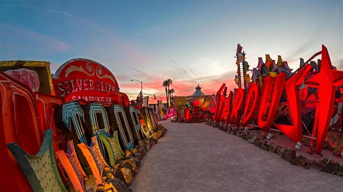 Neon Museum Las Vegas Nevada-2016 Bing Desktop Wallpaper Views:868