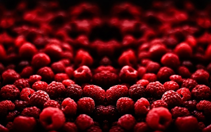 Raspberry berry red-Macro photography wallpaper Views:1328