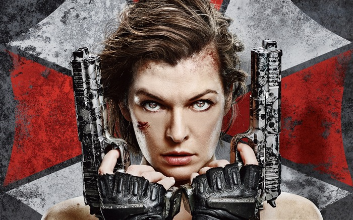 Resident Evil 6 Milla Jovovich-2016 Movie Posters Wallpaper Views:8391 Date:8/16/2016 7:42:35 AM