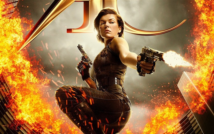 Resident Evil The Final Chapter-2016 Movie Posters Wallpaper Views:3714 Date:8/16/2016 7:24:06 AM