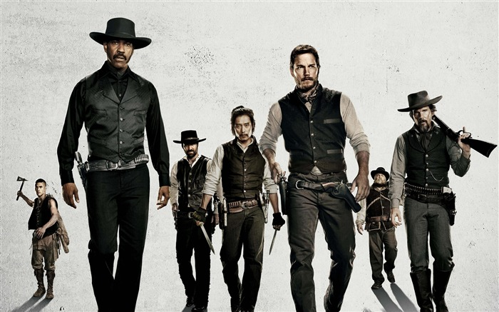 The magnificent seven-2016 Movie Posters Wallpaper Views:11207 Date:8/16/2016 7:51:52 AM