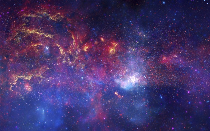 Vibrant galactic stellar evolution-Classic High Quality Wallpaper Views:1203