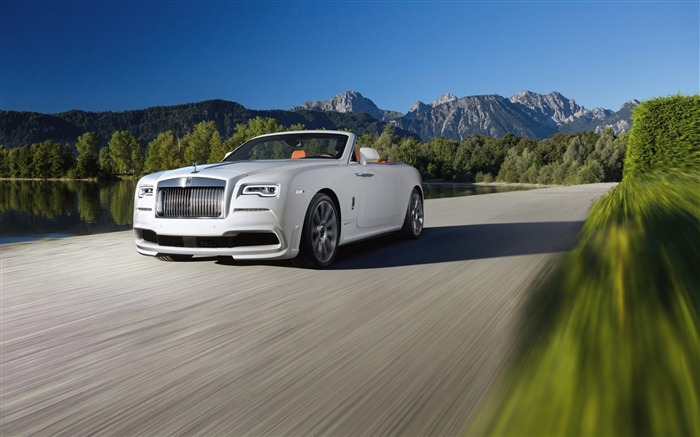 2016 Spofec Rolls-Royce Dawn Convertible HD Wallpaper Views:8481