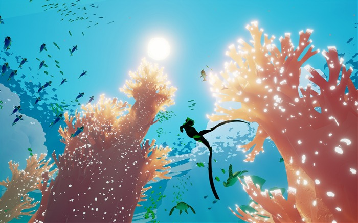 Abzu ps4 xbox one-2016 Game Poster HD Wallpaper Views:1781