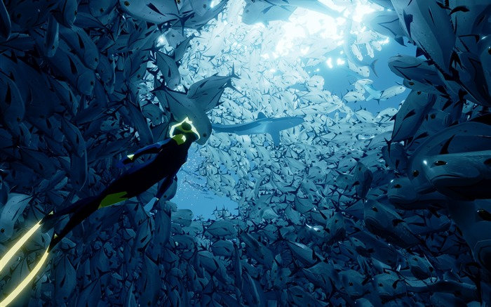 Abzu ps4 xbox one-2016 Game Posters HD Wallpaper Views:1757