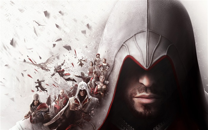 Assassins creed the ezio collection-2016 Game Posters HD Wallpaper Views:2048