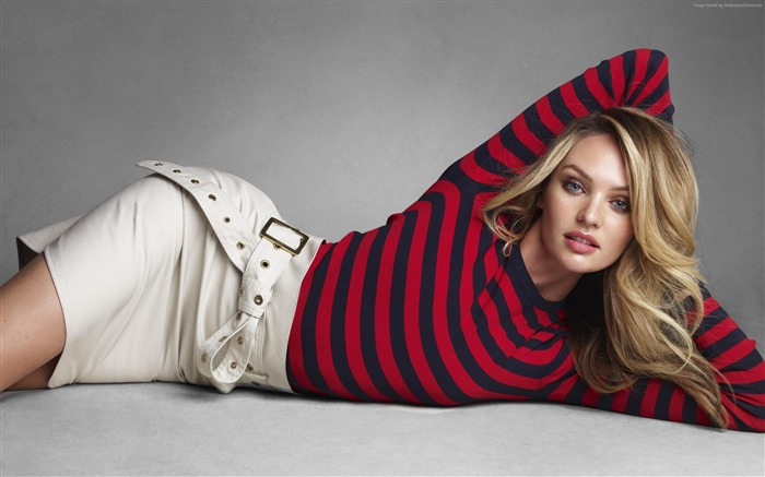 Candice Swanepoel Model-Beauty Photo HD Wallpaper Views:1604