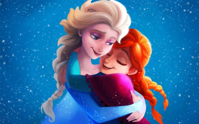 Frozen sisters elsa anna-2016 High Quality Wallpaper Views:1417