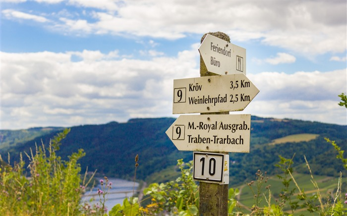 Germany pole directions mountains-2016 Nature Photo HD Wallpaper Views:2143