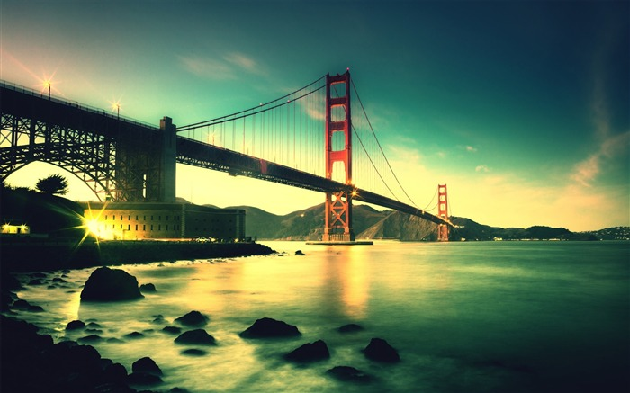 Golden gate bridge-2016 High Quality Wallpaper Views:2559