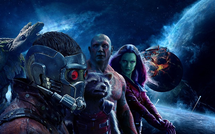 Guardians of the galaxy vol-2016 Movie Posters Wallpaper Views:3850