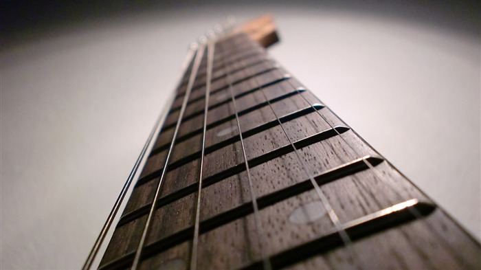 Guitar depth of field-2016 Music HD Wallpaper Views:1175