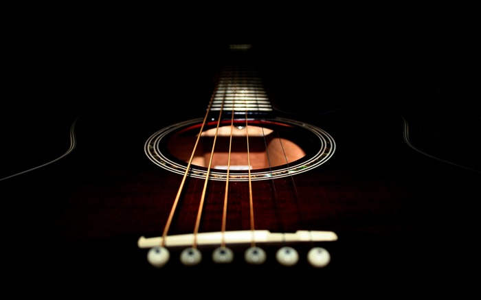 Guitars macro-2016 Music HD Wallpaper Views:1031