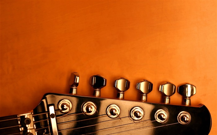 Guitars strings macro-2016 Music HD Wallpaper Views:1208