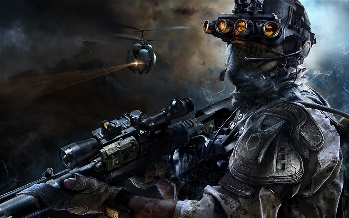 Sniper Ghost Warrior 3-2016 Game Poster HD Wallpaper Views:1396