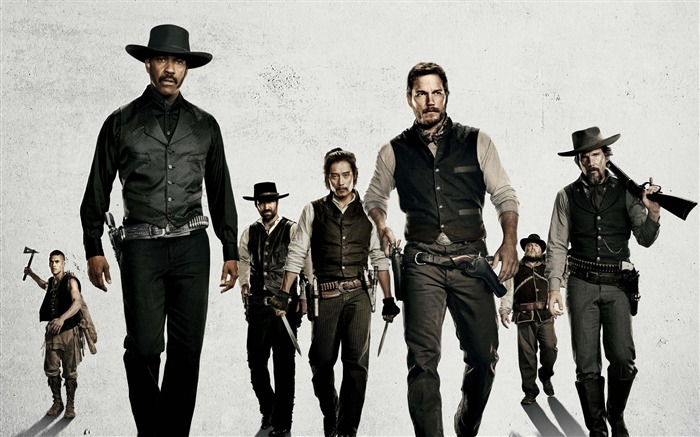 The magnificent seven-2016 Movie Poster Wallpaper Views:1550