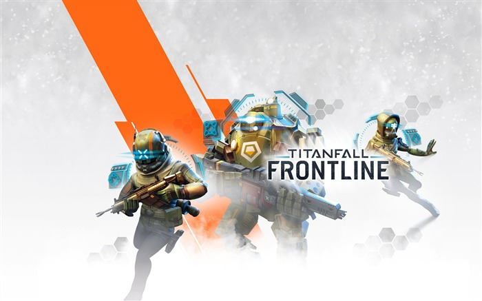 Titanfall frontline-2016 Game Poster HD Wallpaper Views:1297
