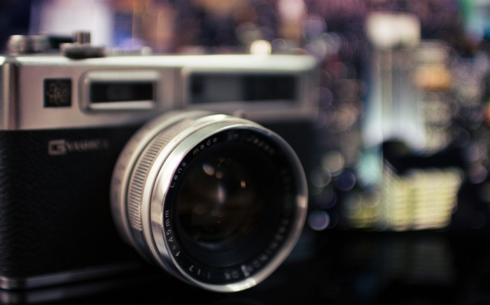 Yashica camera lens blur-2016 Brand HD Wallpaper Views:1240