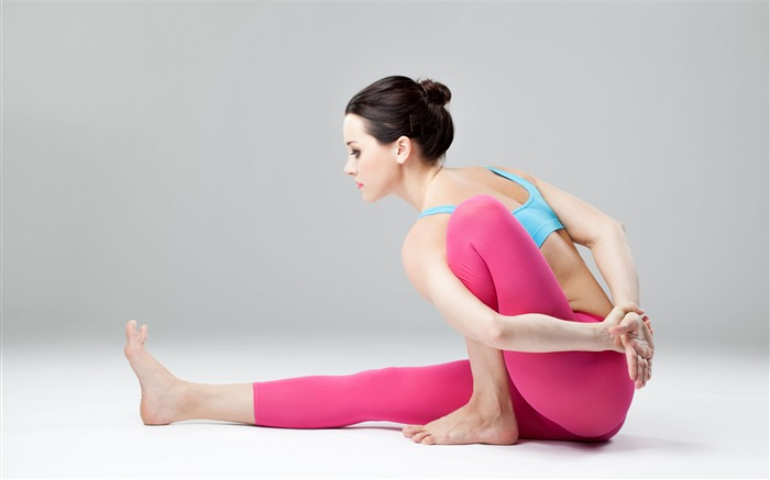 Yoga weight loss relax fitness-Fitness photo wallpaper Views:698