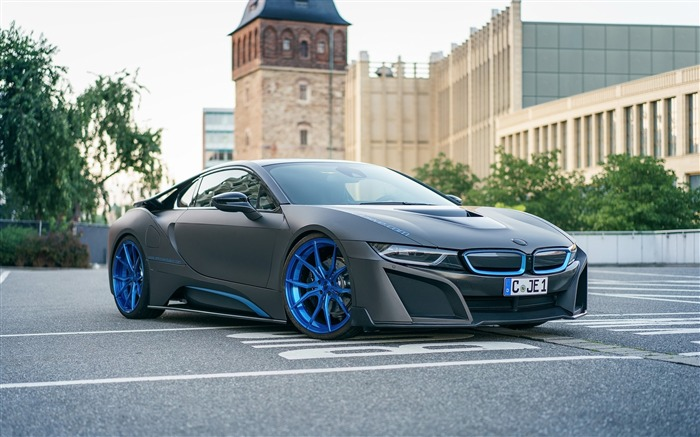 2016 GSC BMW i8 Auto Poster HD Wallpaper Views:8188