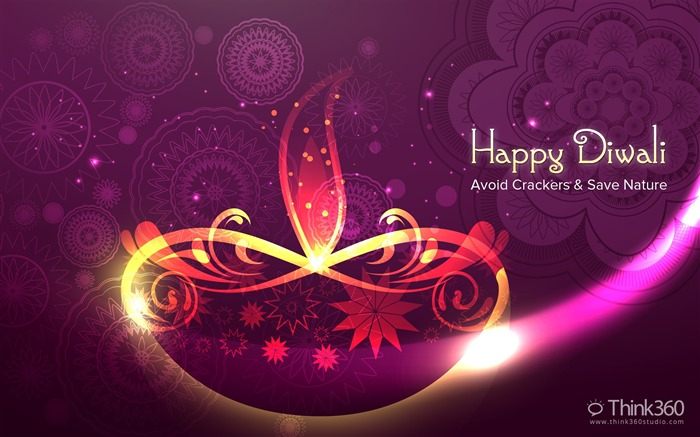 2016 Happy Diwali Festival Themed Desktop Wallpaper Views:2033