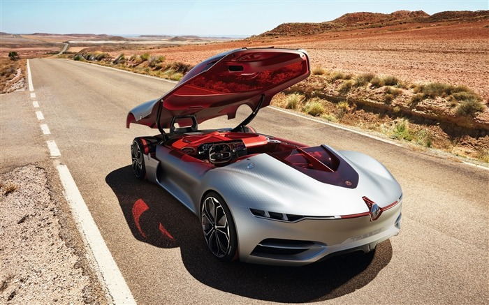 2016 Renault Trezor Concept HD Poster Wallpaper 15 Views:1269