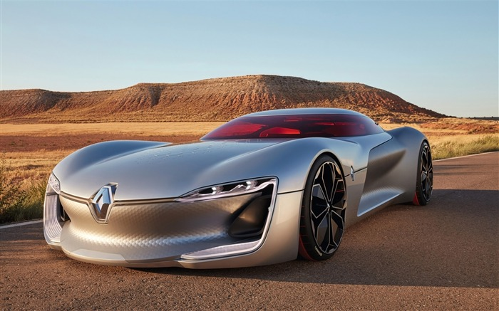 2016 Renault Trezor Concept HD Poster Wallpaper Views:3742