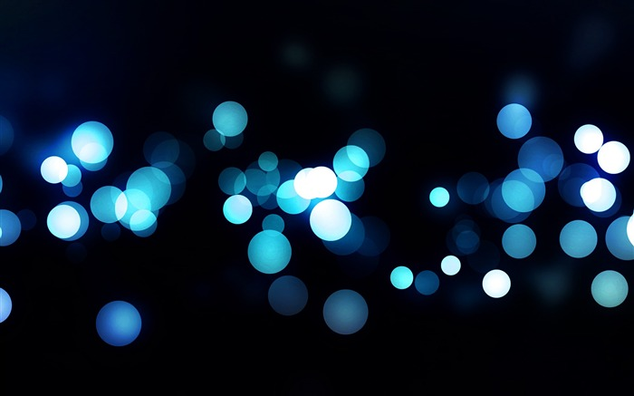 Abstract blue circle bokeh-Design Desktop Wallpaper Views:948