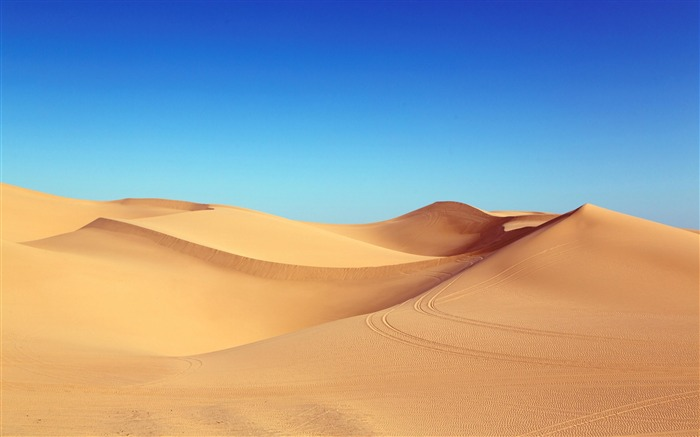 Algodones dunes blue sky-2016 High Quality HD Wallpaper Views:1751