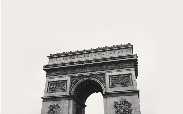 Arc de triomphe in paris-Cities Corner HD Wallpaper Views:1040