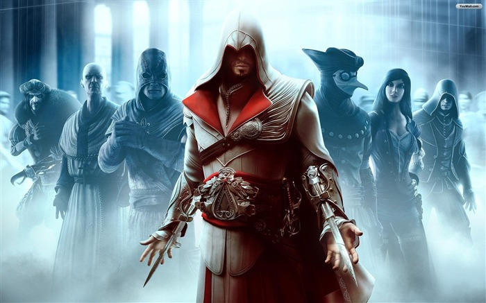Assassins Creed The Ezio Collection Game Wallpaper 10 Views:1228