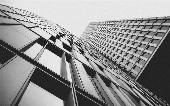 Black and white building-Cities Corner HD Wallpaper Views:986