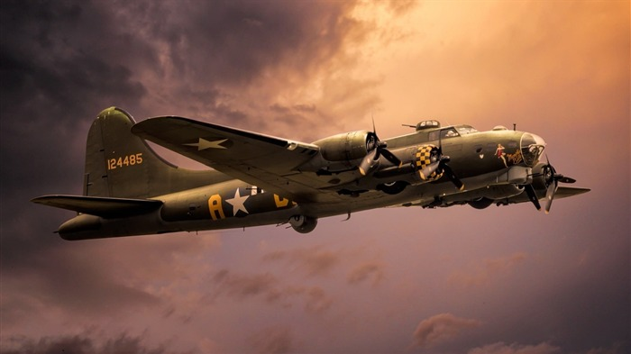 Boeing b 17g-2016 High Quality HD Wallpaper Views:1365