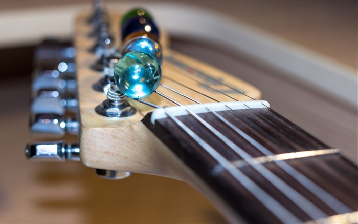 Electric fretboard strings music-2016 High Quality HD Wallpaper Views:1254