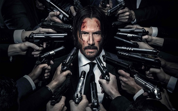 John wick chapter-2016 Movie Poster Wallpaper Views:3361
