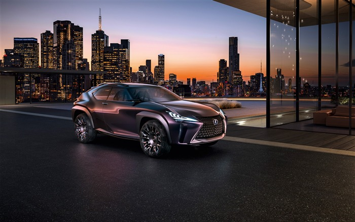 Lexus ux luxury crossover concept-2016 High Quality HD Wallpaper Views:1291
