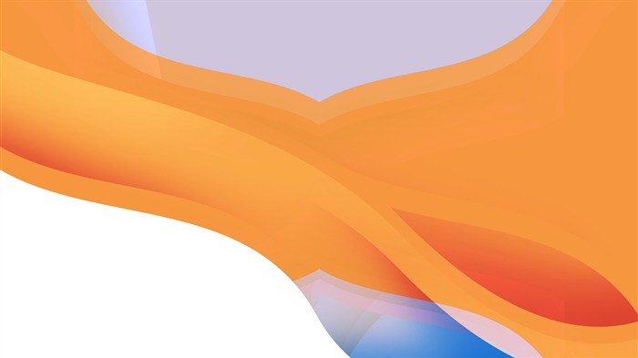 Simple orange waves abstract-Design Desktop Wallpaper Views:1333
